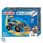 Meccano Meccano – Set 3 modele masinute