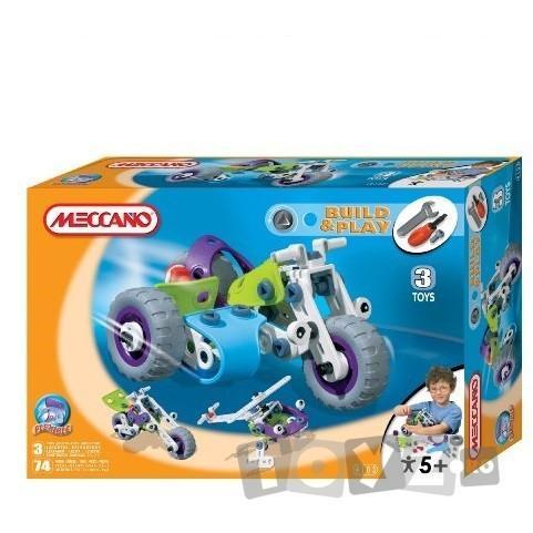 MECCANO Joc constructie: Motocicleta cu atas