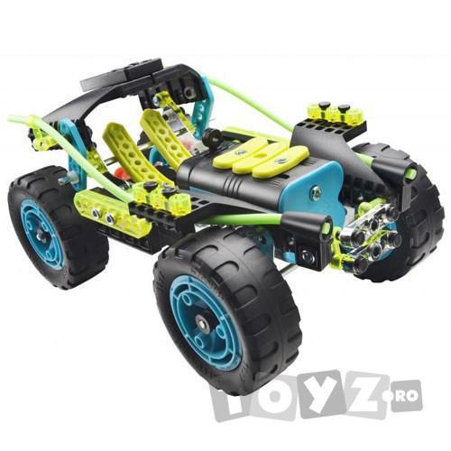 MECCANO Xtreme: Power Motor 3 modele cu motor 6V (160 piese)