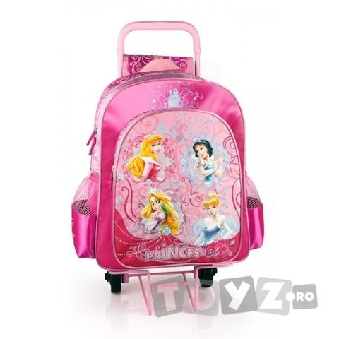 Arsuna Disney Princess Ghiozdan scoala troler