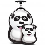Cuties and Pals Set Troler si Ghiozdan Cheri the Panda