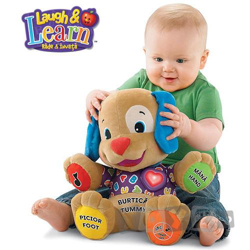 Fisher Price Catelus care adora sa se joace  – Limba romana FPL8416