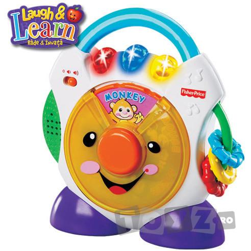 Fisher Price L&L CD Player MTN6857