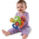 Fisher Price Fisher Price – Breki broscoiul cu sunete glumete