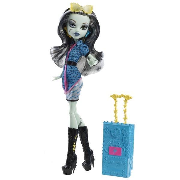 Mattel Papusa Monster High – Plimbarete – Frankie Stein