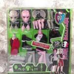 Mattel Papusi Monster High – Creeaza un monstru – Gargoyle & Vampire MTY6608-X3725