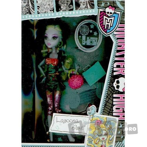 Mattel Papusa Monster High – Lagoona Blue MTX4636-BBJ78