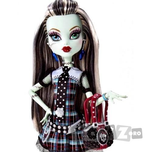 Mattel Frankie Stein Monster High,cu geanta