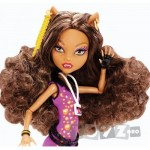 Mattel Papusa Clawdeen Wolf – Monster High Music Festival