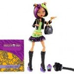 Mattel Papusa Monster High New Scaremester Clawdeen Wolf Fashion