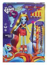 Hasbro Mlp Eg Radical Hair Rainbow Dash