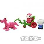 HelloKitty Hello Kitty Set Trasura Cu Dragon