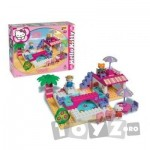 Androni Giocatolli Cuburi constructie Unico Plus Hello Kitty La piscina