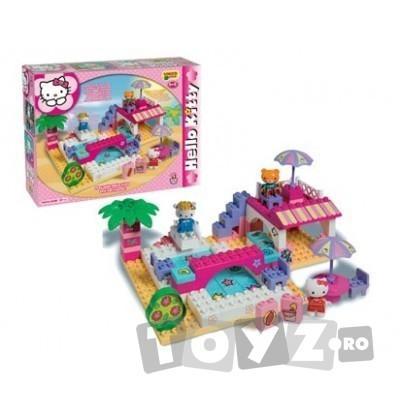 AndroniGiocatolli Cuburi constructie Unico Plus Hello Kitty La piscina