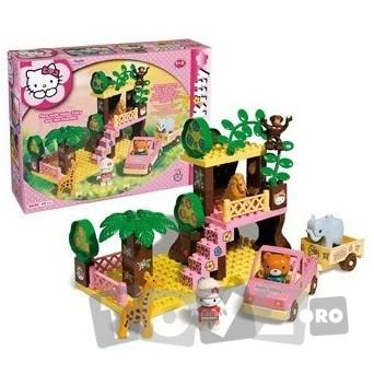 AndroniGiocatolli Cuburi constructie Hello Kitty Safari