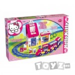 BIG Hello Kitty Play Set Cuburi Statie Tren