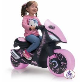 Injusa Injusa – Motocicleta electrica Hello Kitty 6V