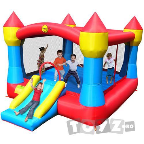HappyHop Castel de joaca gonflabil Super Castle