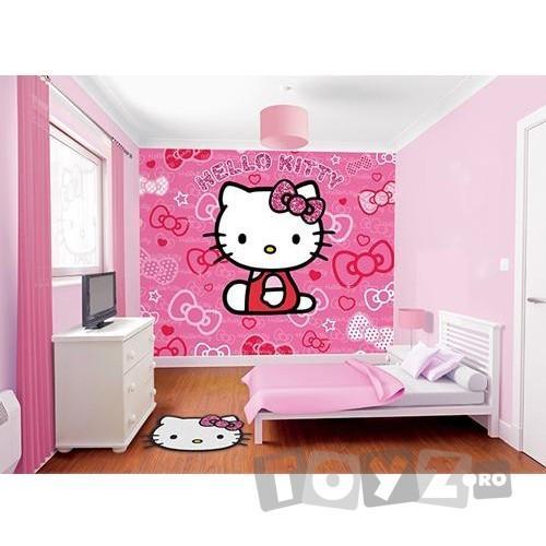 Walltastic Tapet pentru Copii Hello Kitty