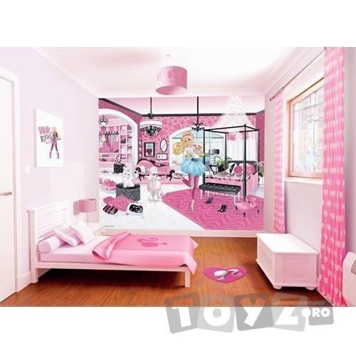 Walltastic Tapet pentru Copii Barbie My Fab Designer
