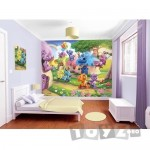 Walltastic Tapet pentru Copii Belly Button Bears