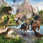 Walltastic Fototapet Lumea Dinozaurilor (Dinosaur Land)