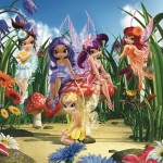 Walltastic Fototapet Zane Magice (Magical Fairies)