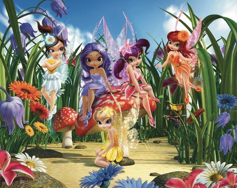 Walltastic Fototapet Zane Magice (Magical Fairies)