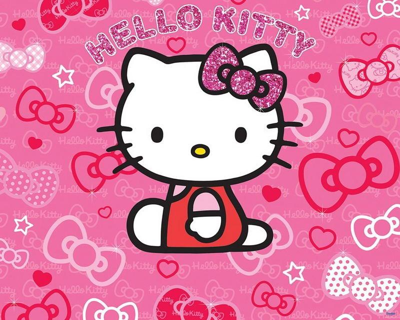 Walltastic Fototapet Hello Kitty