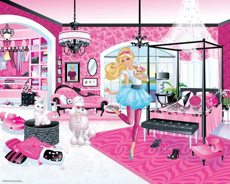 Walltastic Fototapet Barbie