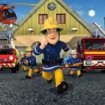 Walltastic Fototapet Sam Pompierul (Fireman Sam)