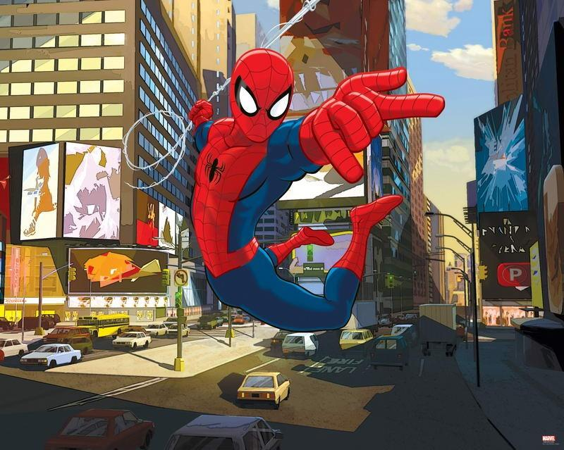 Walltastic Fototapet Spiderman (Ultimate Spider-Man)
