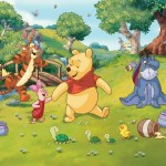 Walltastic Fototapet Disney Winnie de Plus (Disney Winnie the Pooh)