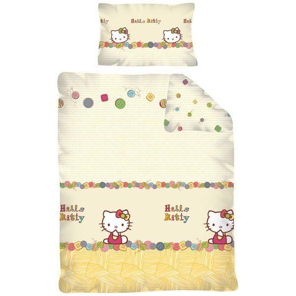 Lenjerie de pat Hello Kitty 100 x 135cm HK12DC