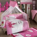Kidboo Set Lenjerie Pat Copii 9 Piese Little Princess