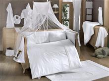 Kidboo Set Lenjerie Pat Copii 9 Piese White Dreams