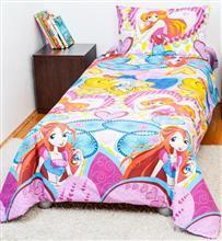BebeDeco Bebedeco-Lenjerie Pat Copii 1 Persoana-Printesa Aurora