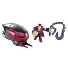 Mattel Superman- Figurina Lansatoare Si Vehicul – Cruiser Smash