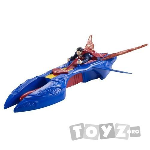 Mattel Superman – figurina si vehicul – Kryptonian Interceptor Vehicle MTY0817-Y5883