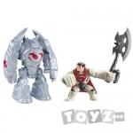 Mattel Superman- figurina lansatoare si vehicul – Robot Attack MTY0835-Y5896