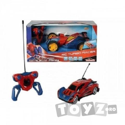 SPIDERMAN Spiderman masinuta RC 1:24 Turbo cu 2 canale