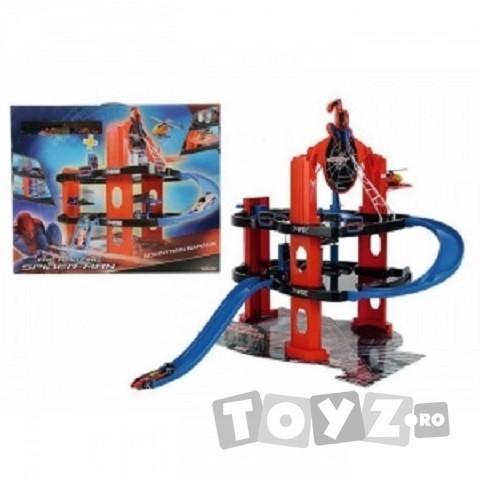 SPIDERMAN Spiderman garaj cu elicopter