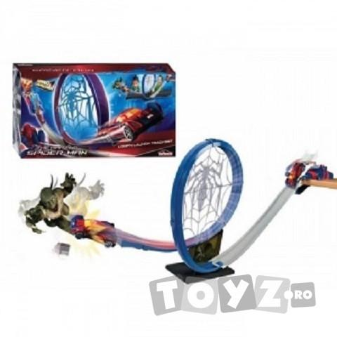 SPIDERMAN Spiderman set circuit Loop and Launch