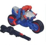 Spiderman Ultimate Spiderman Quick Launch Racers Blast N Go Spider Cycle