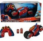 Majorette Spiderman Motocicleta Rc Cyber Cycle