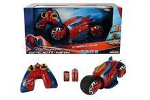 Majorette Spiderman Motocicleta Rc Cyber Cycle