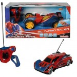 MAJORETTE Spiderman Masina RC 124 Turbo Cu 2 Canale