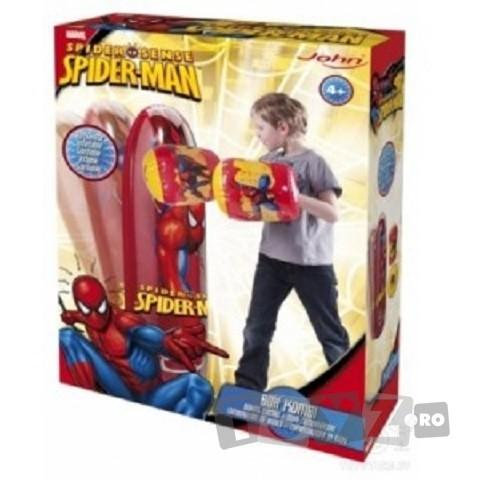 John Set Manusi de Box + Sac de Box Spiderman