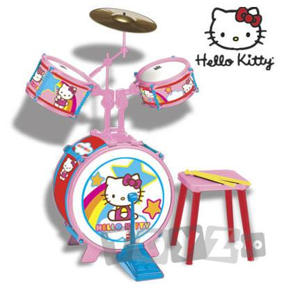 Reig Musicales Set tobe (baterie) Hello Kitty 1491