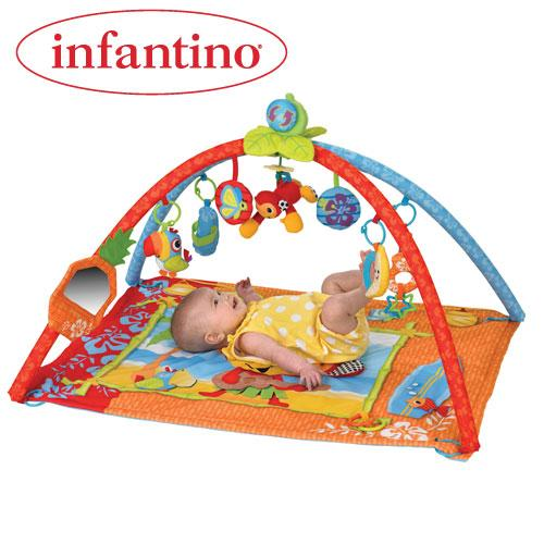 Infantino Infantino – Salteluta de activitati Atinge si Canta
